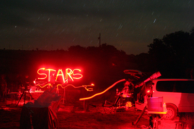 Fun under the stars